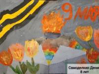 """Художественная выставка посвященная """"Дню Победы"""""""